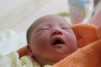 第二子生まれました。