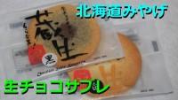 【北海道おみやシリーズ】生チョコサブレ 蔵生【グルメ部動画!】